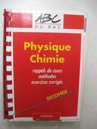ABC du Bac numéro 504, Physique-Chimie, exercices: Tomasino