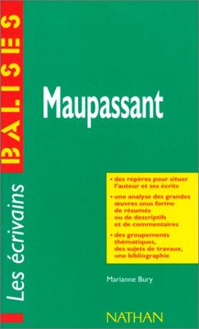 9782091802343: Balises Auteurs: Maupassant (French Edition)