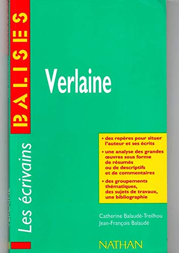 9782091804996: Verlaine : grandes oeuvres, commentaires critiques...