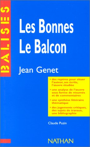 9782091807515: Les Bonnes, Le Balcon de Jean Genet