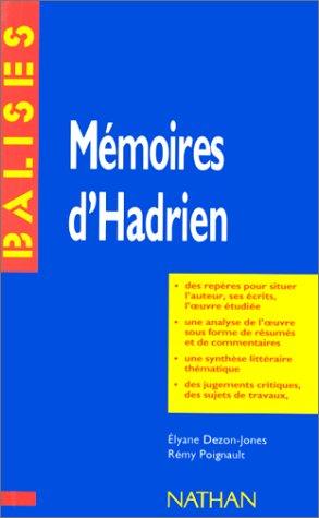 9782091807942: MEMOIRES D'HADRIEN, YOURCENAR
