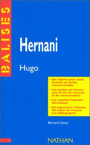 9782091807973: Hernani, Victor Hugo (Balises)