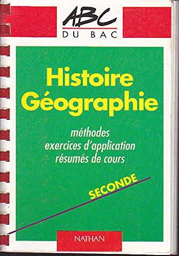 9782091809564: Histoire-g�ographie, seconde