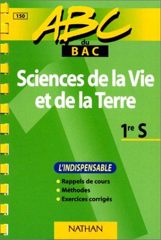 9782091809854: ABC du bac, sciences de la vie et de la terre niveau première