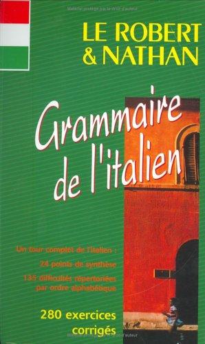 9782091811086: Le Robert & Nathan grammaire de l'italien