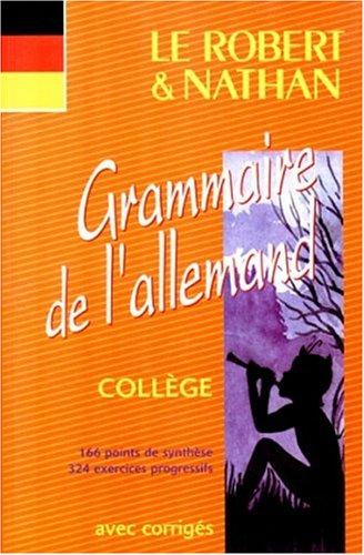 GRAMMAIRE DE L'ALLEMAND. Collège: François Muller, Helga