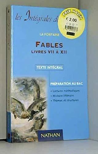 9782091815121: FABLES. Livres 7 à 12