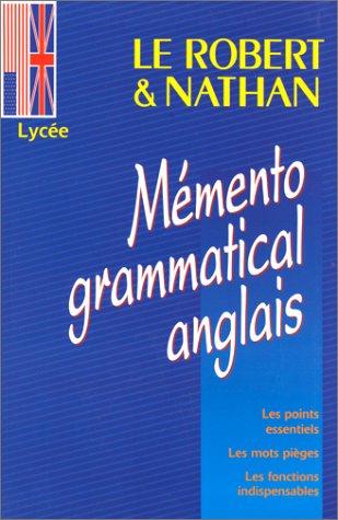 9782091821276: Mémento grammatical (anglais)