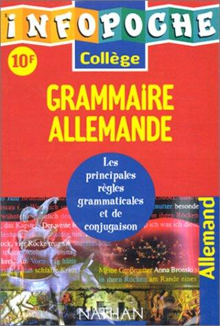 9782091823256: Grammaire allemande