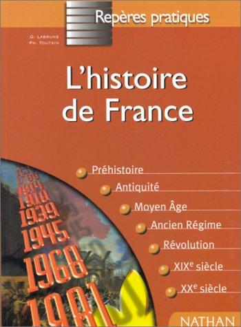 9782091824307: L'HISTOIRE DE FRANCE
