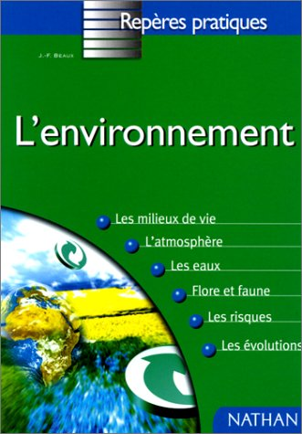 9782091824314: l'Environment (French Edition)
