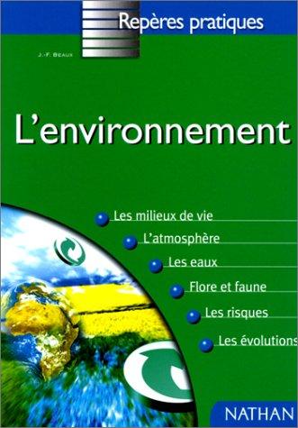 9782091824314: L'environnement