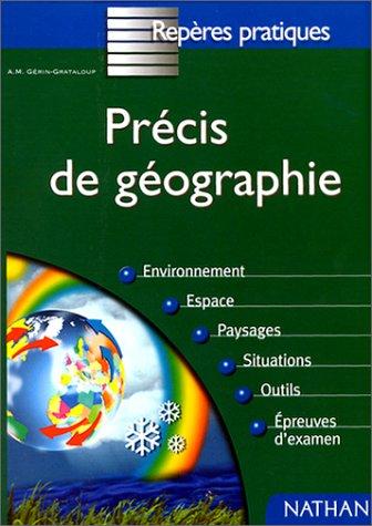 9782091824529: Précis de géographie