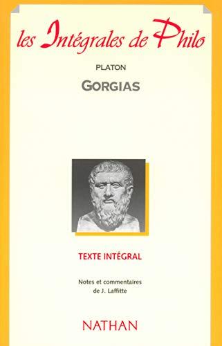 9782091825274: Intégrale de philo : Platon, Gorgias
