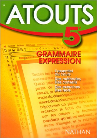 9782091826479: N°10 - Grammaire - Expression - 5e