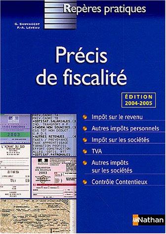 9782091830971: Précis de fiscalité (Repères Pratiques)