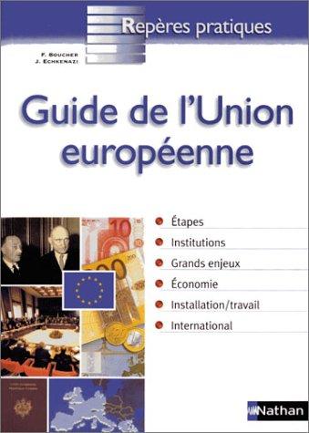 9782091831084: Guide de l'Europe des 25 : Repère pratique