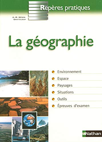 9782091832593: La géographie (French Edition)