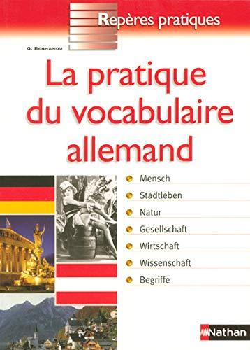 9782091832739: La pratique du vocabulaire allemand