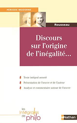 9782091834474: DISCOURS SUR L'ORIGINE DE L'INEGALITE