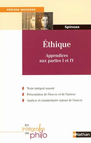9782091834634: Ethique : Appendices aux parties I et IV