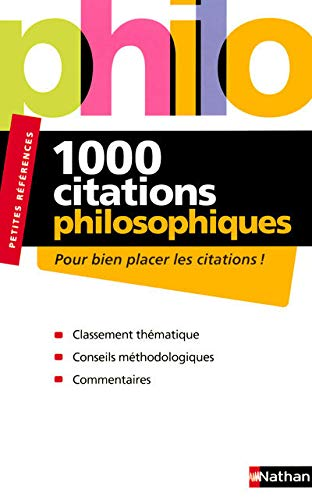 9782091840406: 1000 citations philosophiques