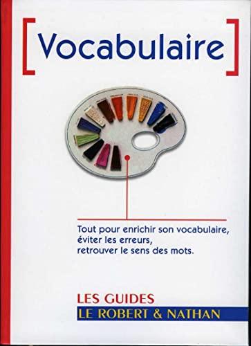 9782091841717: Vocabulaire (Les guides Le Robert & Nathan)