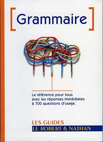 9782091841731: Grammaire (Les guides Le Robert & Nathan)