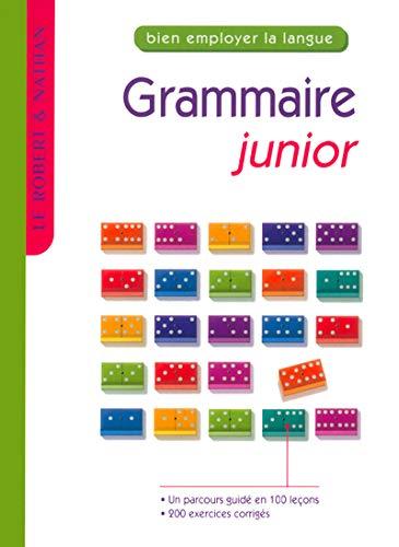 Grammaire junior: Non Assigné, Auteur