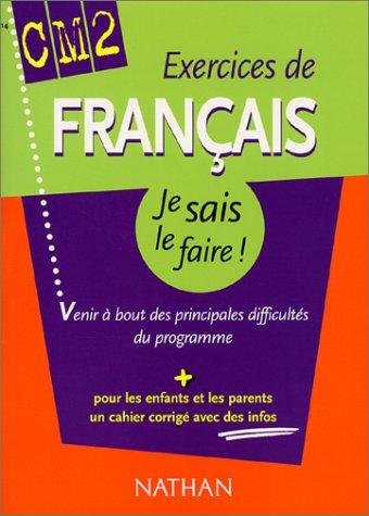 9782091841922: Exercices de Fran�ais CM2 (+ corrig�)