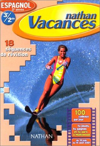 9782091842622: Cahier de Vacances 2001 : espagnol 5e-4e / 3e-2nde