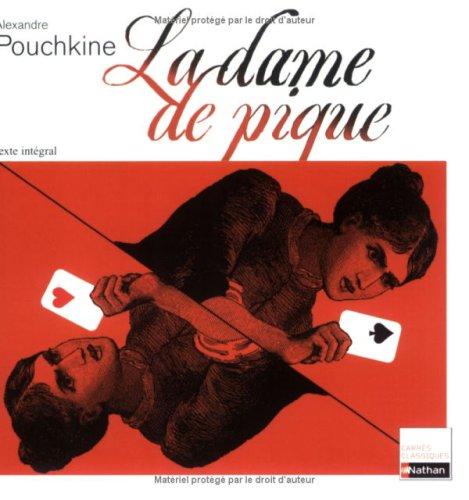 9782091843612: La dame de pique (Carrés classiques)