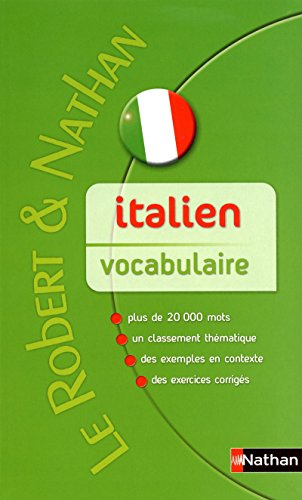 9782091844732: Italien vocabulaire (Le robert et nathan)