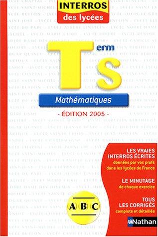 9782091844978: Mathématiques Tle S
