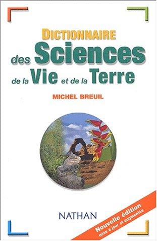 9782091845401: Dictionnaire des Sciences de la Vie et de la Terre