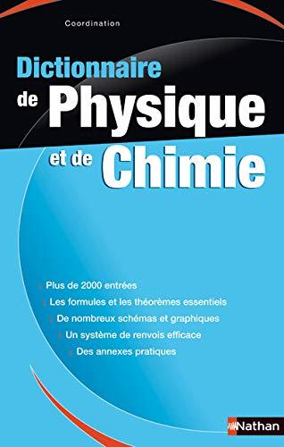 9782091845463: Dictionnaire de Physique-Chimie