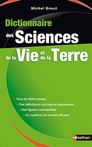 9782091845470: Dictionnaire des Sciences de la Vie et de la Terre