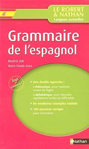 Grammaire de l'espagnol: Job, Béatriz, Dana,