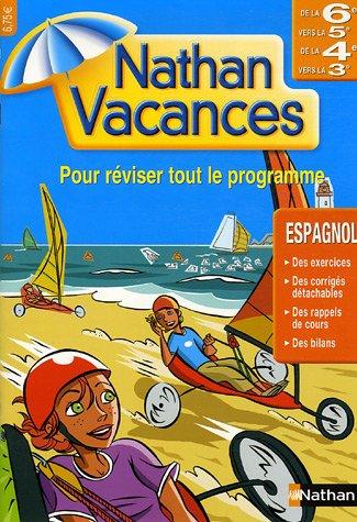 9782091855868: Cahiers de Vacances 2006 Espagnol 6 5/4 3 (Nathan vacances)