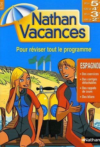 9782091855875: Cahiers de Vacances 2006 Espagnol 5 4/3 2 (Nathan vacances)