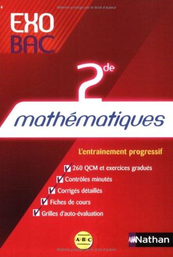 9782091860541: Maths 2nde