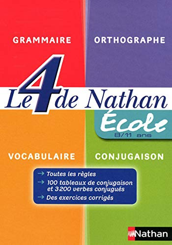 9782091867335: Le 4 de Nathan (French Edition)