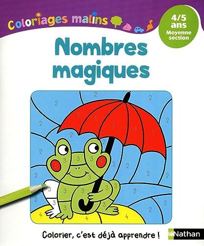 9782091869254: Coloriages Malins - Nombres Magiques MS