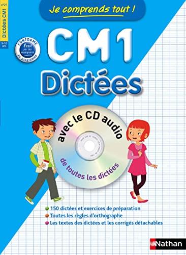 9782091869339: Je comprends tout ! Dictées CM1 avec CD