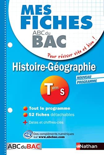 9782091869629: Mes fiches ABC du BAC Histoire Géographie Term S