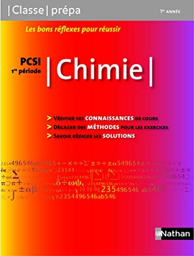 Chimie PCSI 1e Periode (French Edition)