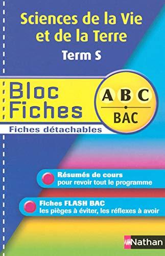 9782091873381: BLOC FICHES ABC SVT TERM S