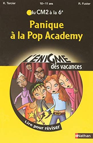 9782091873954: Panique à la Pop Academy (French Edition)