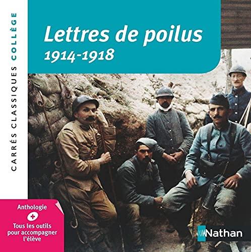 9782091878102: Lettres de poilus 1914-1918