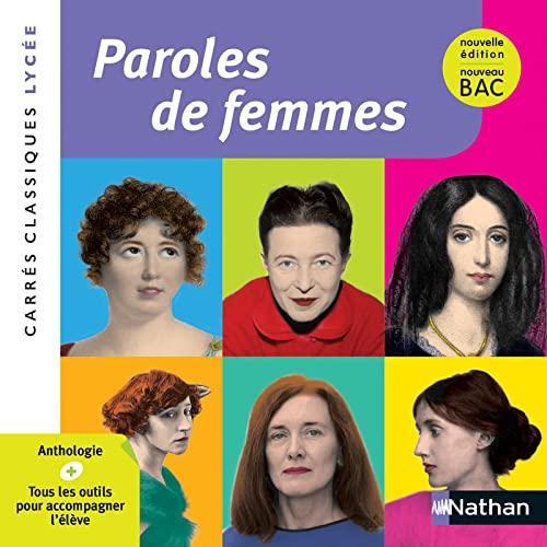 9782091878140: Paroles de femmes : Anthologie